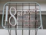 18 reasons sign on guerrero street