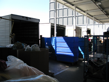 loading dock at Goodwill Industries of San Francisco