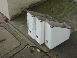 free magazine files found on the sidewalk in San Francisco
