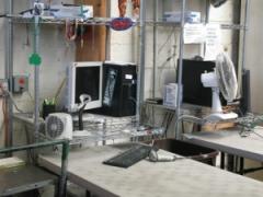 computer station at Goodwill San Francisco