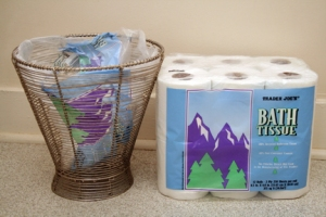 reuse toilet paper packaging
