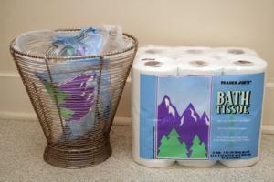 reuse toilet paper packaging