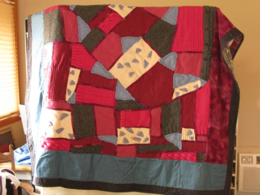 sweater quilt