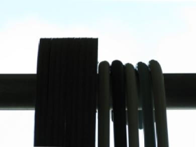 cardboard hangers and plastic hangers