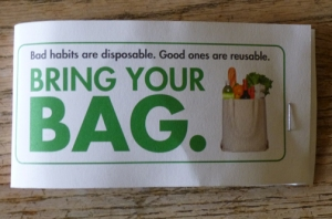 Bad habits are disposable. - SF Environment