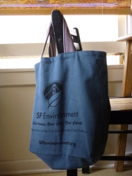 reusable cloth bag; sf environment