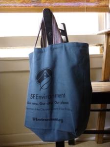 reusable cloth bag; sf environment